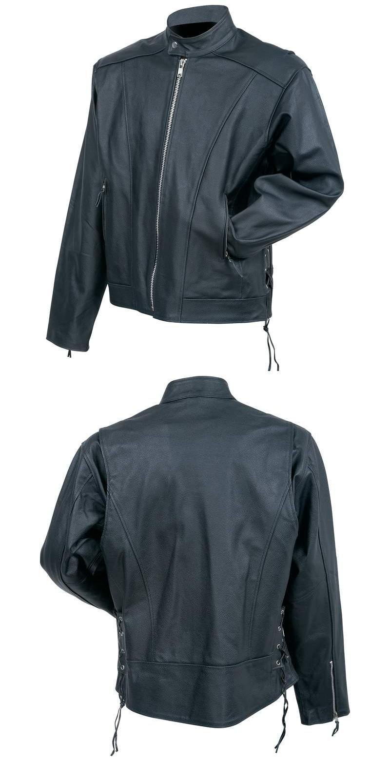 Cowhide Leather Cruiser Jackets (BKCRUS)