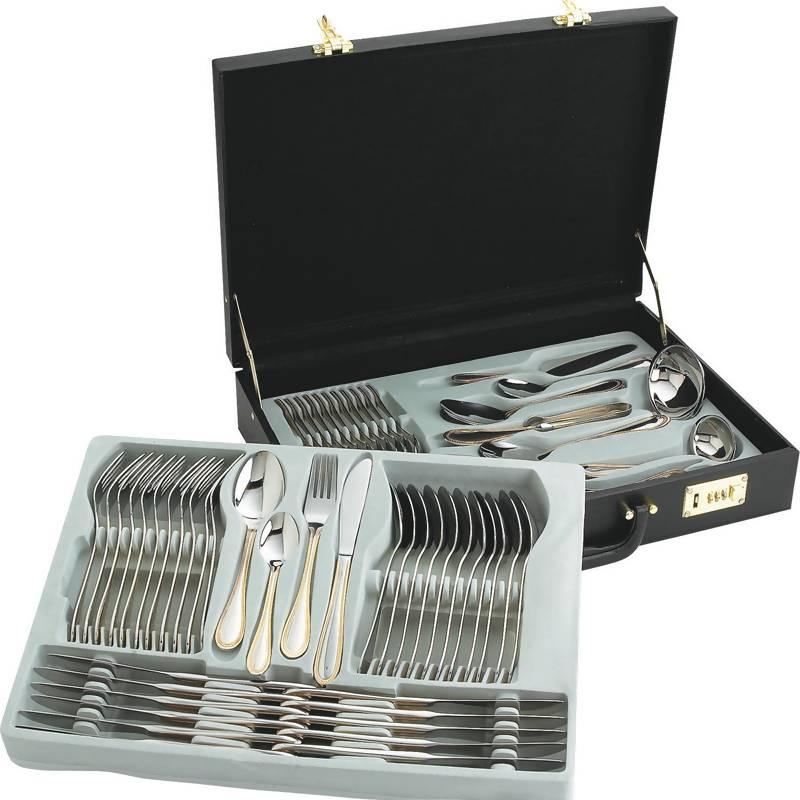 Sterlingcraft® 72pc Gold Flatware Sets (FW72G)