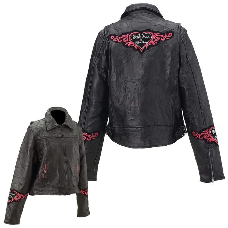 Ladies' Leather Jackets (GFHRT)