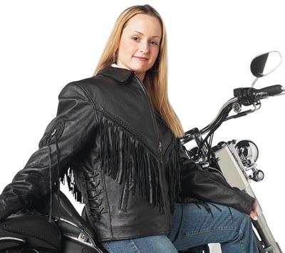 Leather Ladies Motorcycle Jackets (GFLADMJ)