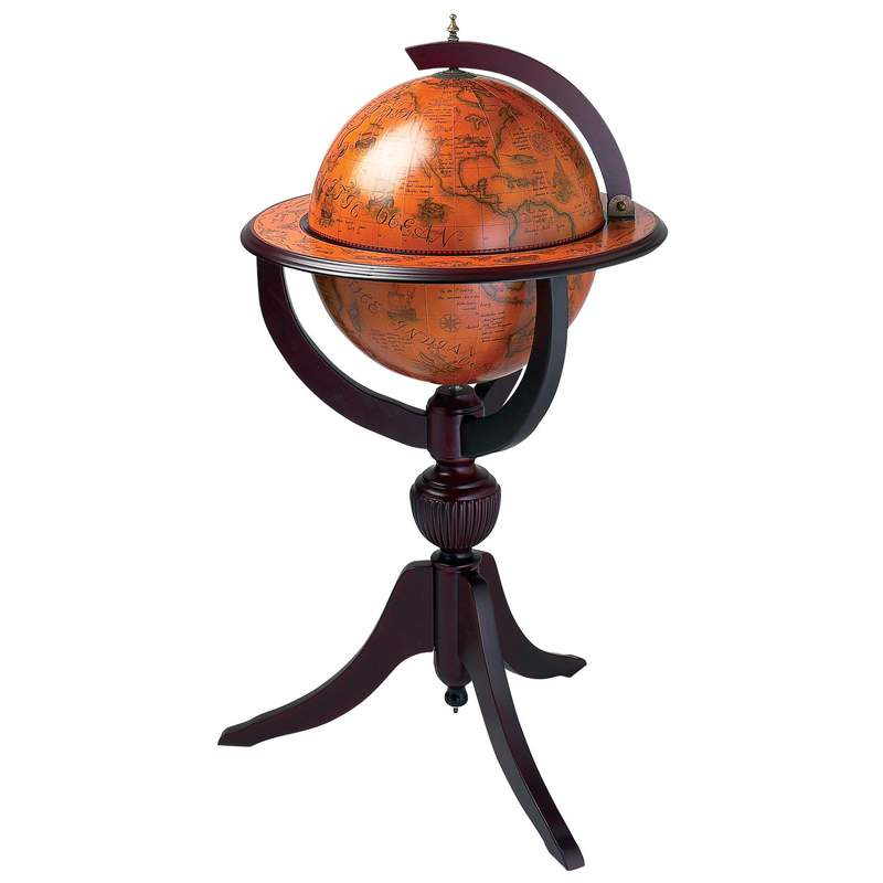 "26"" Diameter Replica Globe Bar (HHGLB670)"