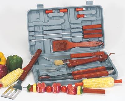 Chefmaster 19pc Barbeque Tool Sets (KTBQSC19)