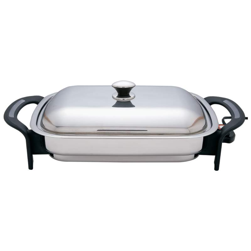Stainless Steel Electric Skillets (KTES4)