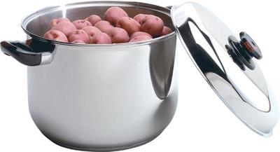 Health Smart 16qt Waterless Stock Pots (KTSP16)