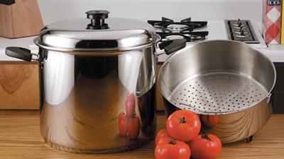 Precise Heat 24qt Waterless Stock Pots (KTSP24)