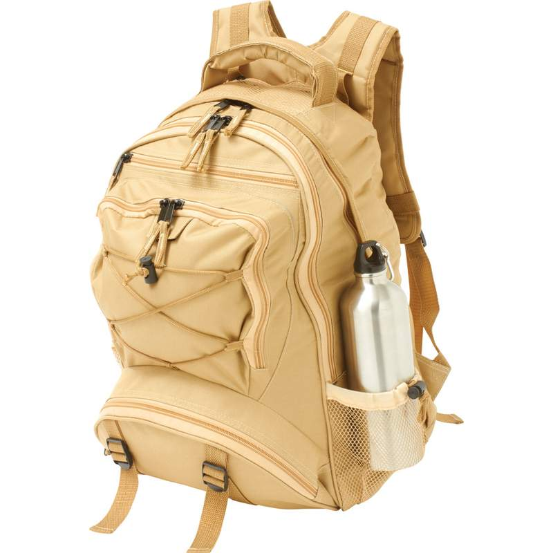 Water Resistant Backpacks (LUBP17SAND)