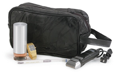 Leather Personal Travel Bags (LULSHAVE)