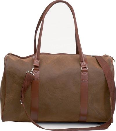 "21"" Man-Made Angola Tote Bags (LUPV21)"