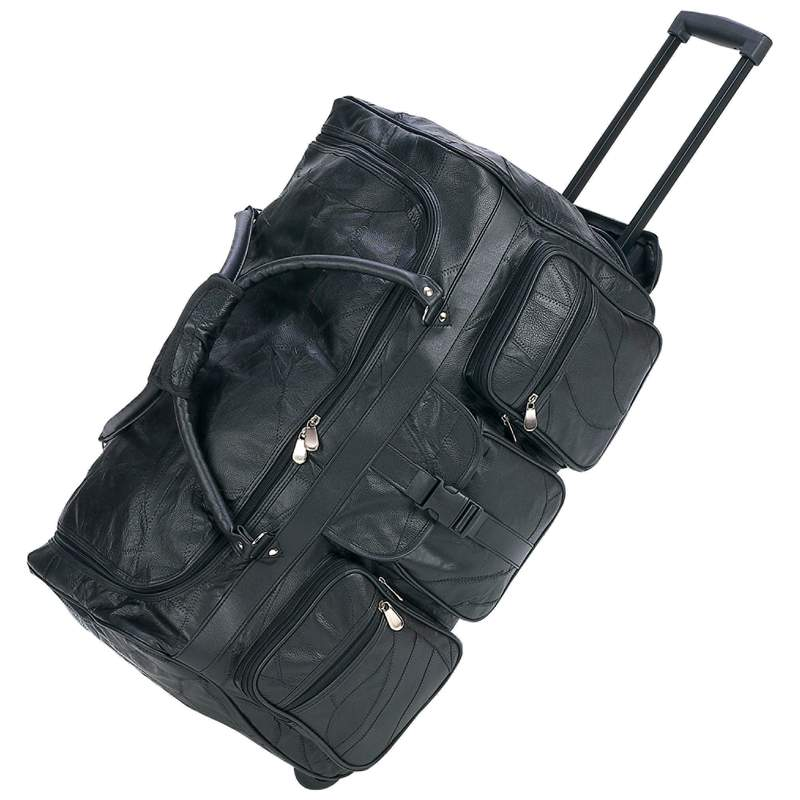 Leather Rolling Duffle Bags (LUTRDF25)
