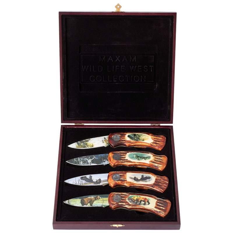 Wildlife Lockback Knife Sets (SKWILD4)