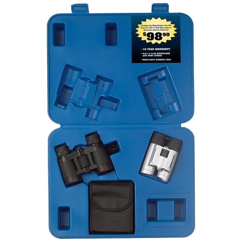 Magnacraft® 2pc Binocular Sets (SPBSET2)