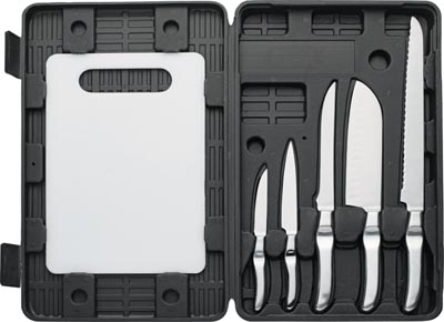 Maxam 6pc Forged Style Cutlery Sets (CTCBF7)