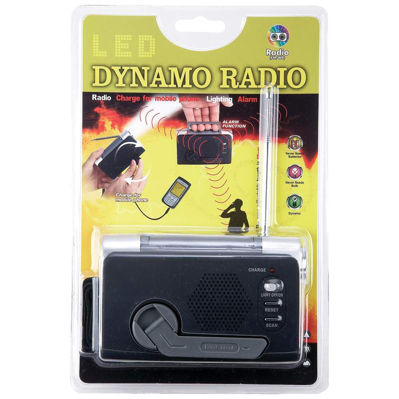 Windup FM/Weather Radios (ELCRANK3)