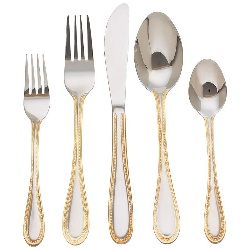 20pc Flatware Sets (FW20GOLD)