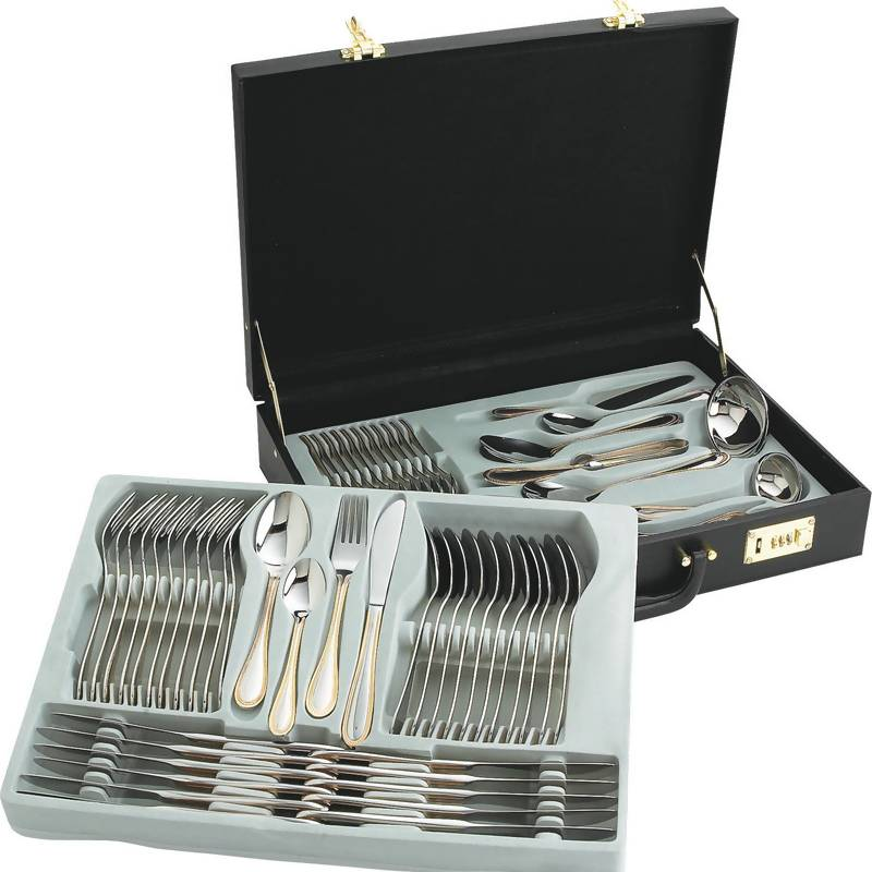 Sterlingcraft® 72pc Gold Flatware Sets (FW72G)