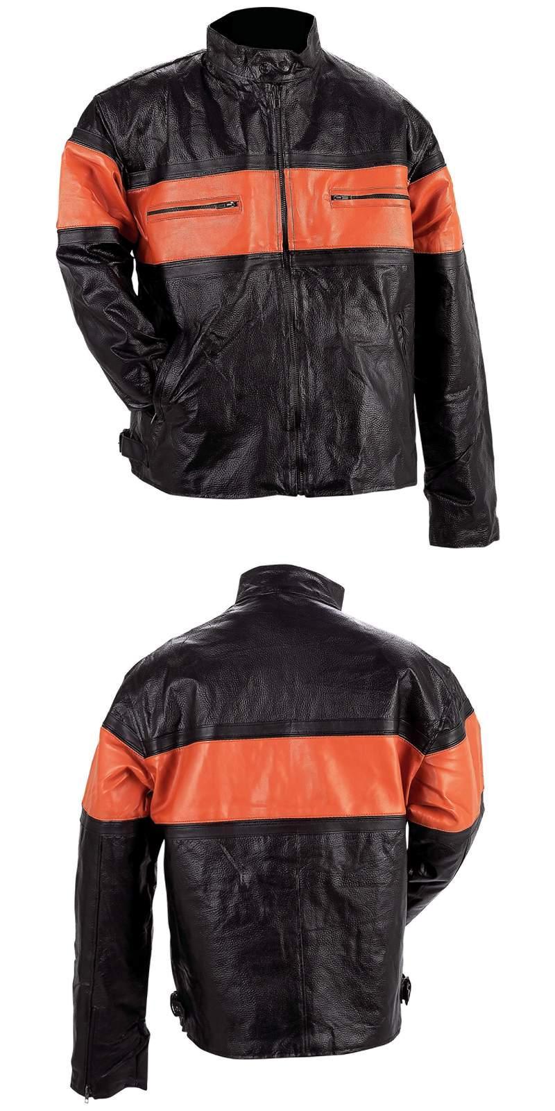 Leather Men's Jackets (GFMMCOR)