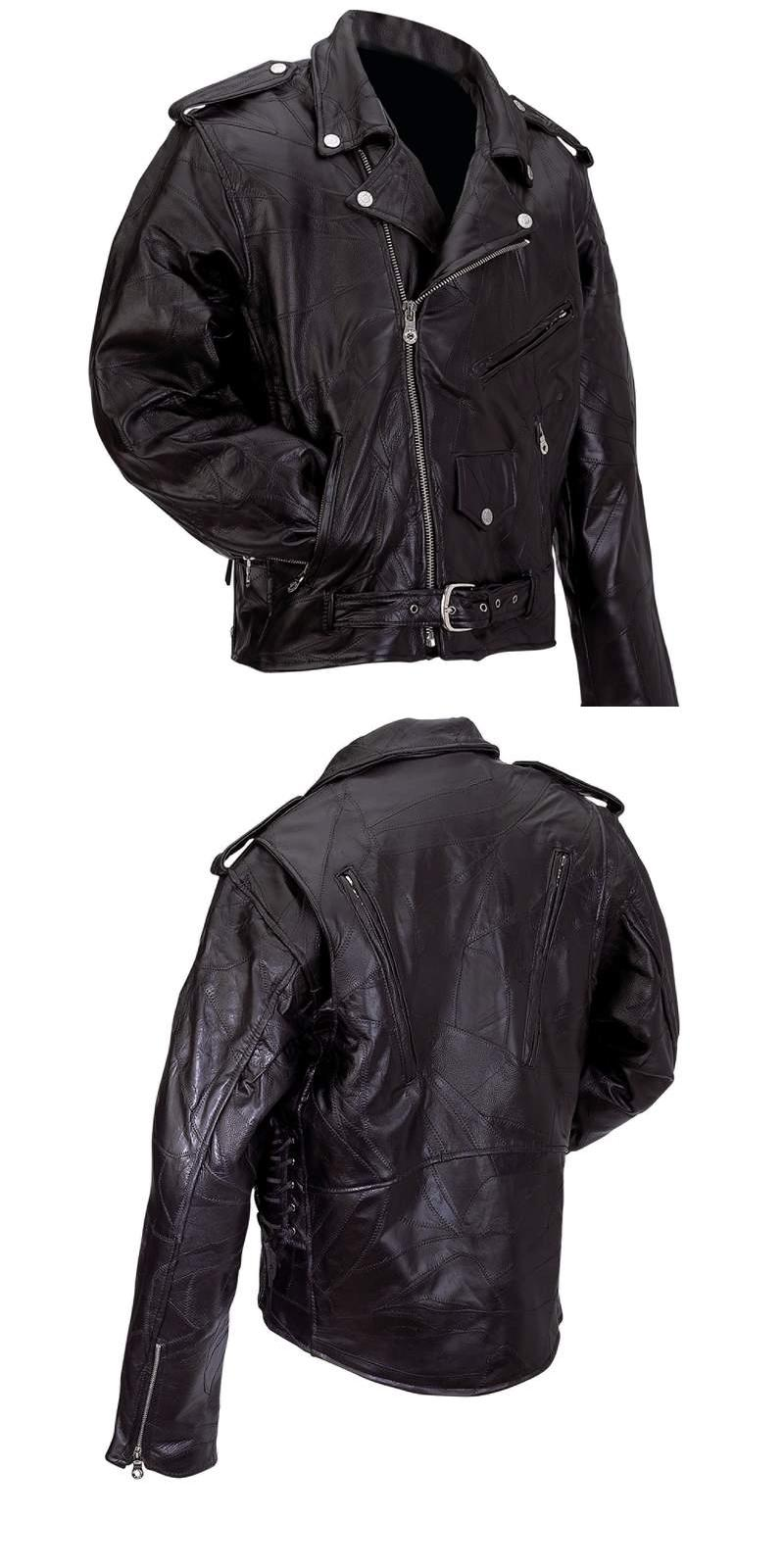 Buffalo Leather Motorcycle Jackets (GFMOT)
