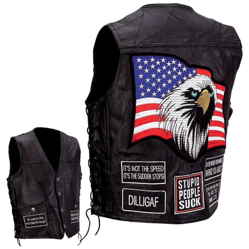 Buffalo Leather Vests (GFVAP)