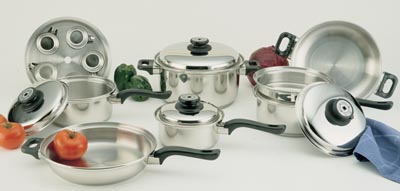 Worlds Finest 7-ply 17pc Waterless Cookware Sets (KT17ULTRA)