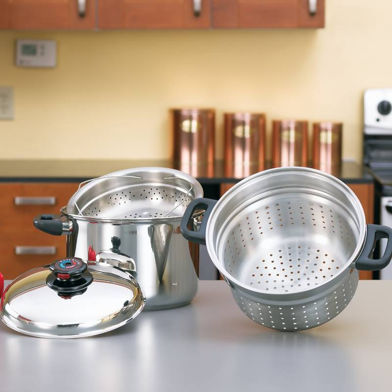 Steam Control 8qt Stainless Steel Spaghetti Cookers (KT82)