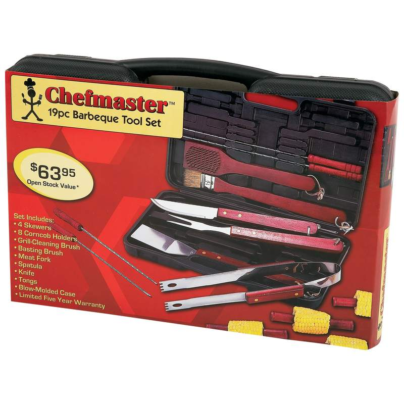 Chefmaster™ 19pc Barbeque Tool Sets (KTBQ192)
