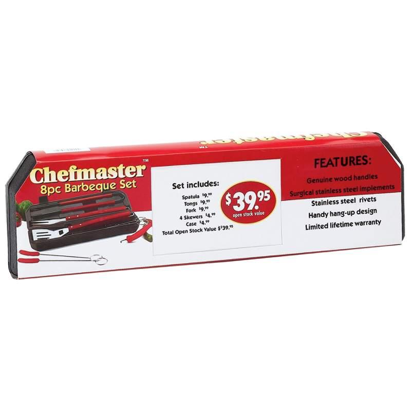 Chefmaster 8pc BBQ Sets (KTBQ7)