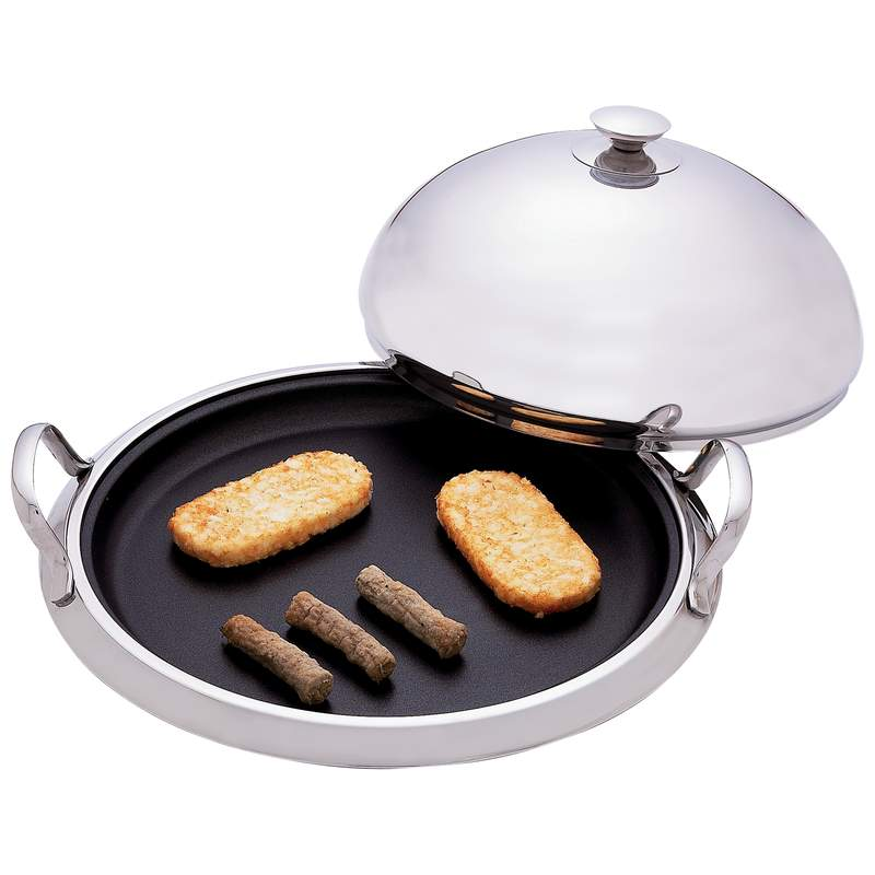 12-Element Surgical Stainless Steel Round Griddles (KTGRID2TF)
