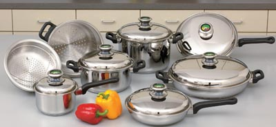 Chef's Secret 14pc 12-Element Cookware Sets (KTLARGE14)