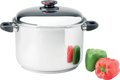 Steam Control 12qt Surgical Stainless Steel Stock Pots (KTSP5)