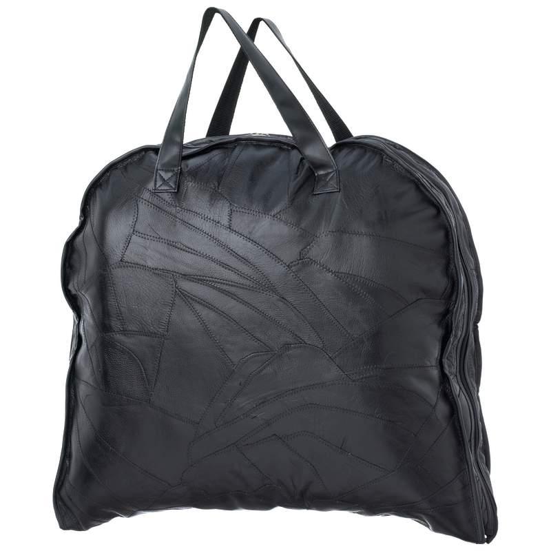 Leather Garment Bags (LUBLGARM)