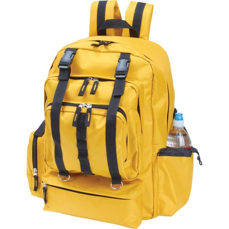 Water Resistant Backpacks (LUBP18YEL)