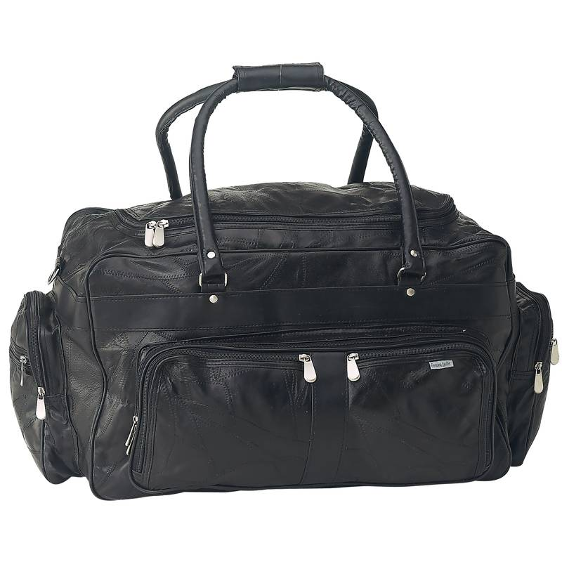 "23"" Lambskin Leather Travel Bags (LUL232)"