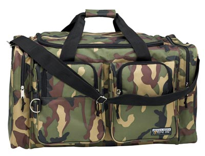 """26"""" Heavy-Duty Camouflage Tote Bags (LUN26CAM)"""