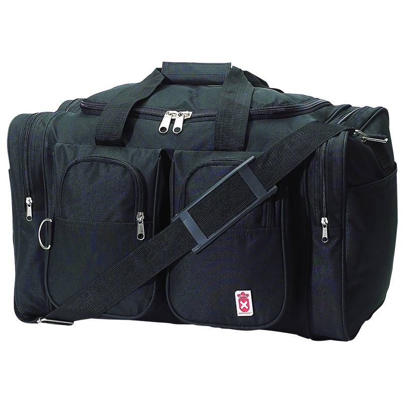 Royal Crest™ Black Tote Bags (LURC26)
