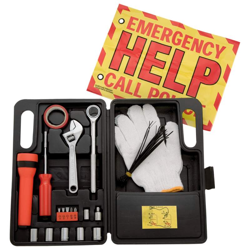 Yorkcraft™ 40pc SAE & Metric Highway Emergency Kits (MTHEK412NC)